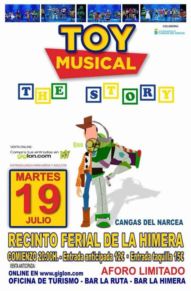 Musical Toy The Story, en Cangas del Narcea