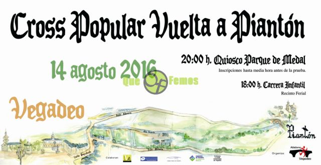 "Cross Popular ""Vuelta a Piantón"" 2016"