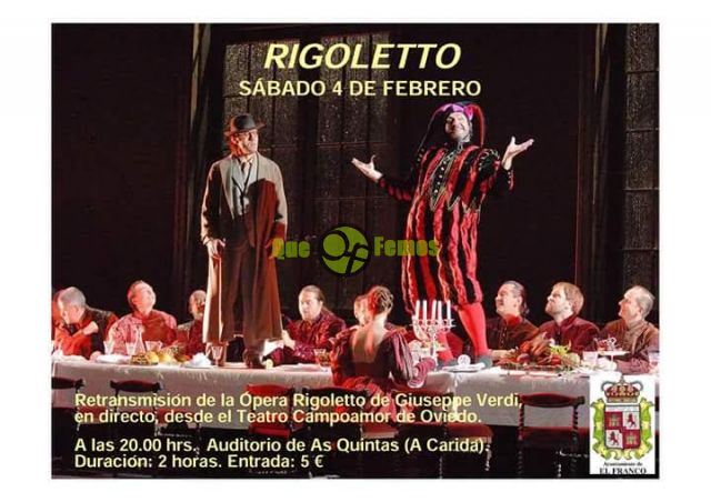 "Ópera en As Quintas: ""Rigoletto"""