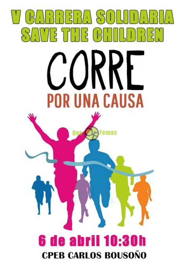 V Carrera solidaria Save The Children en Boal