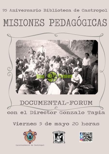"Documental forum en Castropol ""Misiones pedagógicas"""