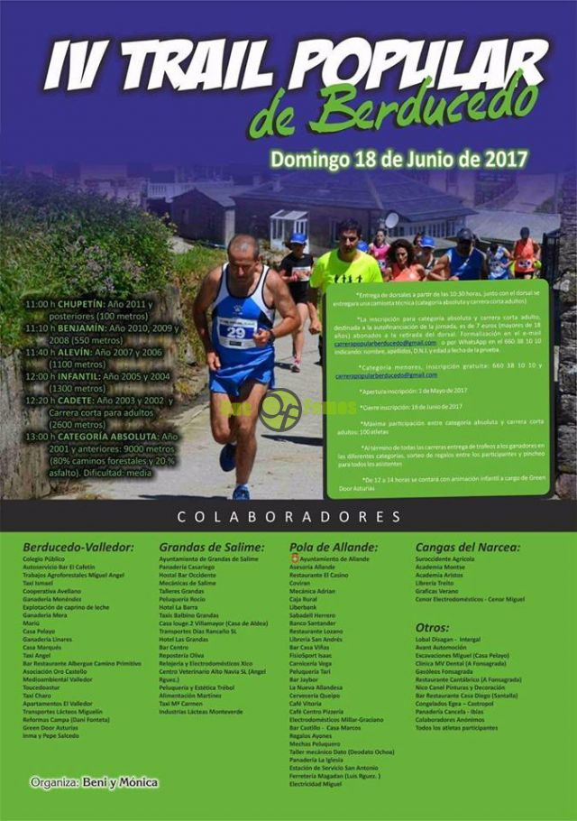 IV Trail Popular de Berducedo 2017