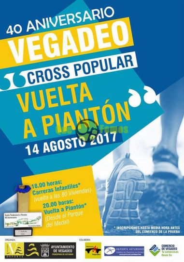 "40º Aniversario del Cross Popular ""Vuelta a Piantón"""