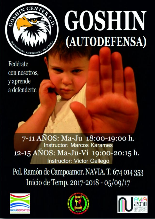 Autodefensa para niñ@s con Goshin Center
