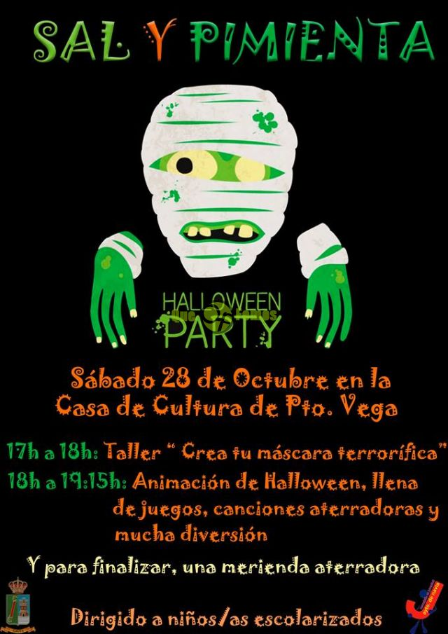 Halloween Party 2017 en Puerto de Vega