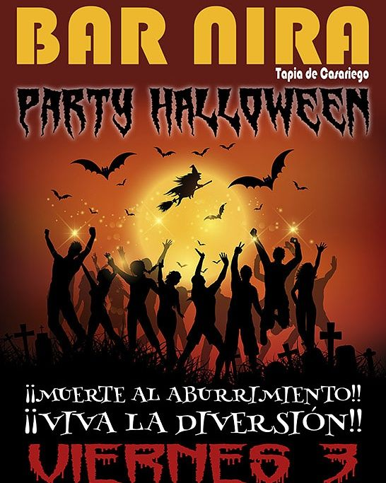 Halloween Party 2017 en el Bar Nira de Tapia