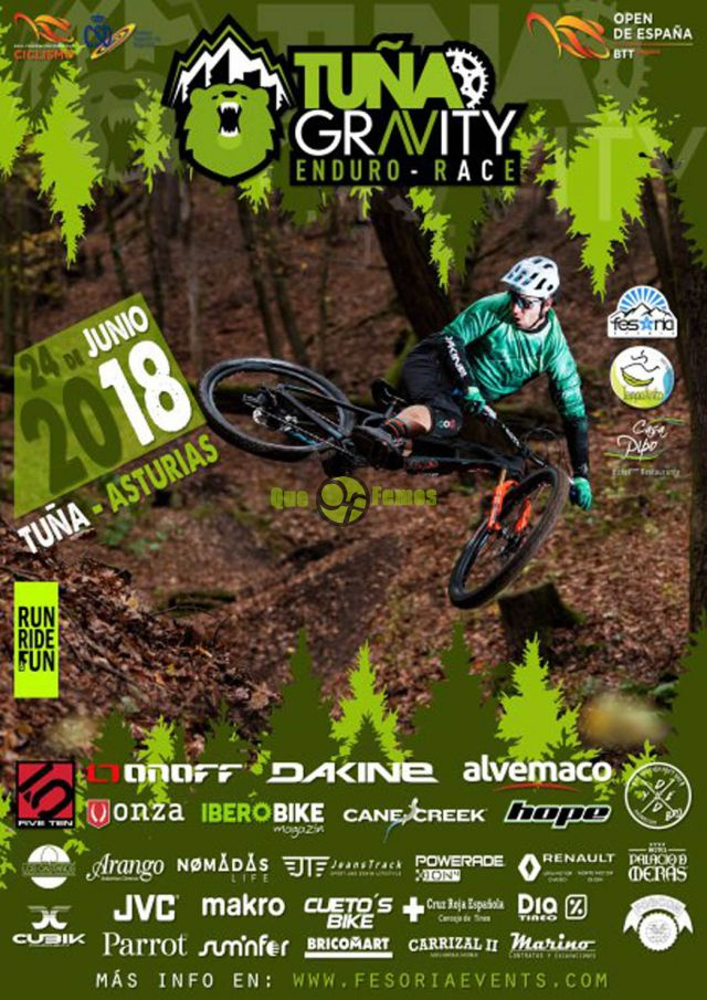 Tuña Gravity Enduro Race 2018