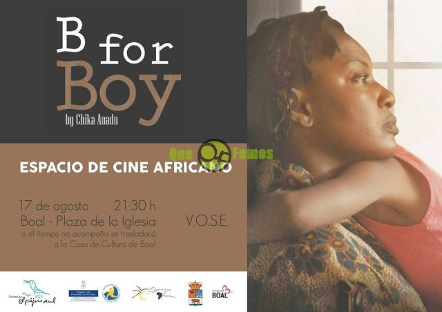 "Cine africano en Boal: ""B for Boy"""