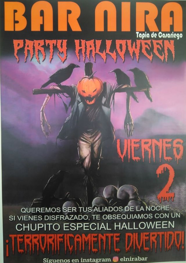 El Bar Nira celebra una terrorífica Party Halloween