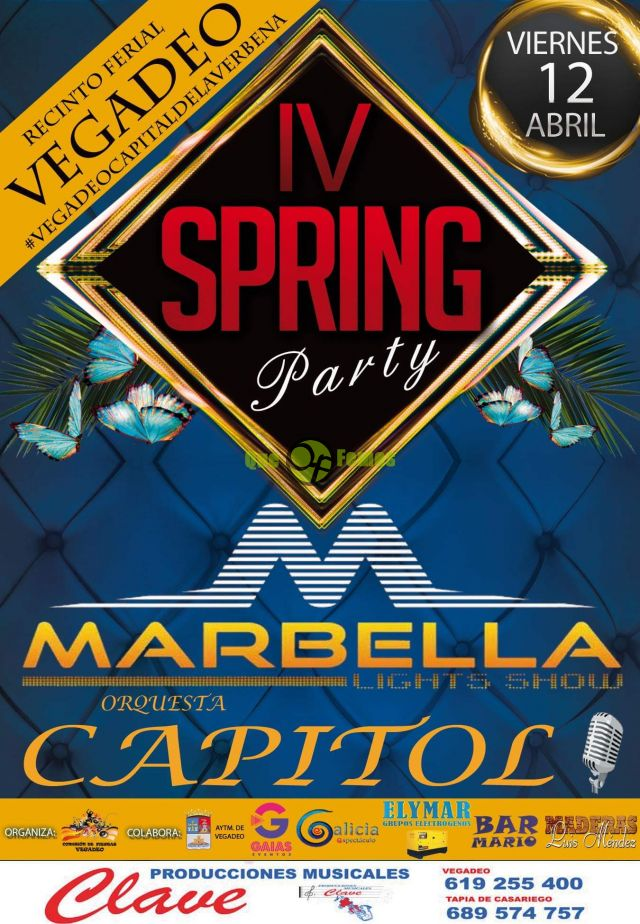 IV Spring Party en Vegadeo 2019