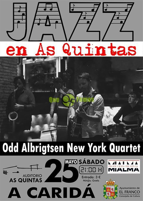 Odd Albrigtsen New York Quartet en concierto en As Quintas