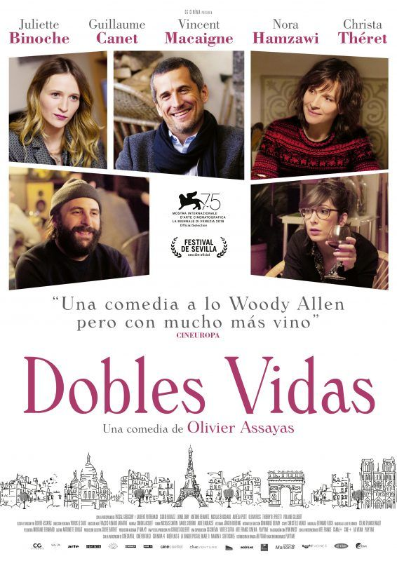 "Cinemateca Ambulante en Tineo: ""Dobles vidas"""