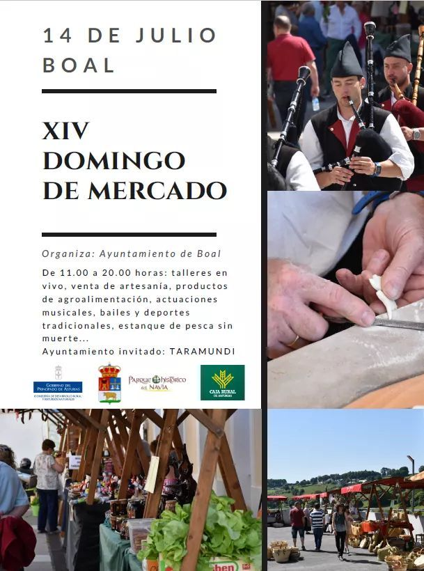 XIV Domingo de Mercado en Boal 2019