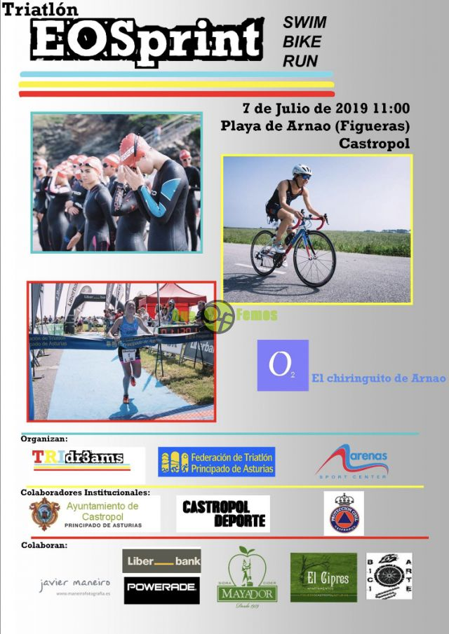III Triatlón EoSprint 2019