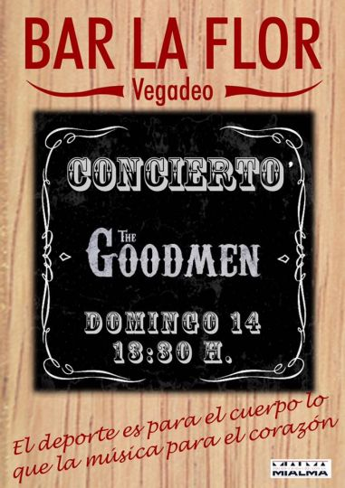 Concierto de The Goodmen en Vegadeo