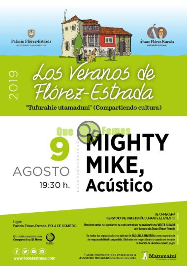 Mighty Mike en acústico en Somiedo