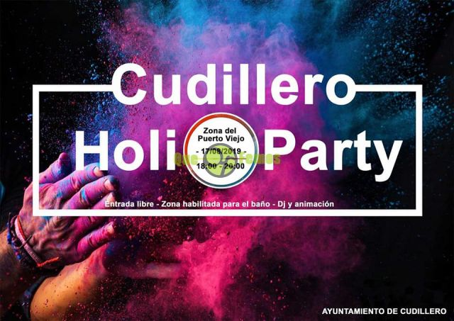 "Cudillero celebra una colorida ""Holi Party"""