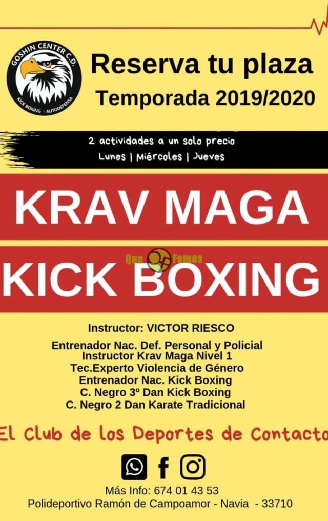 Krav Maga y Kick Boxing, arranca la temporada 2019/2020 en Goshin Center C.D.