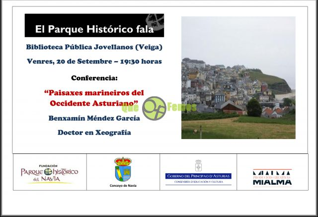 "Conferencia en Puerto de Vega: ""Paisaxes marineiros del Occidente Asturiano"""