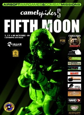 Prueba Airsoft Fifth Moon en Castropol