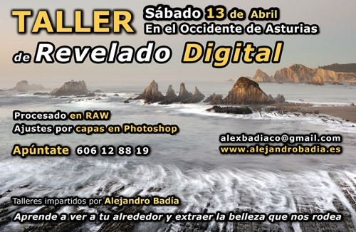 Taller de revelado digital en el Occidente de Asturias