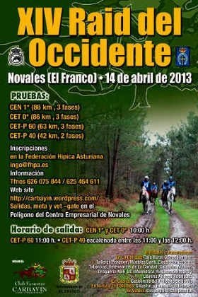 XIV Raid del Occidente 2013