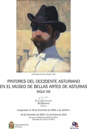 Pintores del occidente asturiano en El Franco
