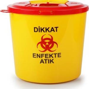 ÇÖP KOVASI TIBBİ ATIK 1,3 LT