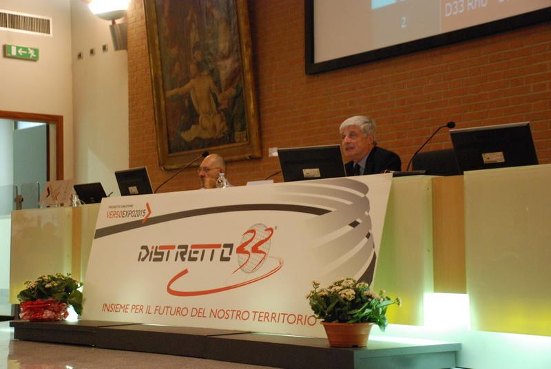 Dario Ferrari, presidente di Distretto 33