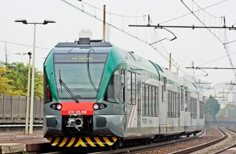 Trenord ATR125 008 Milano Greco Pirelli 101