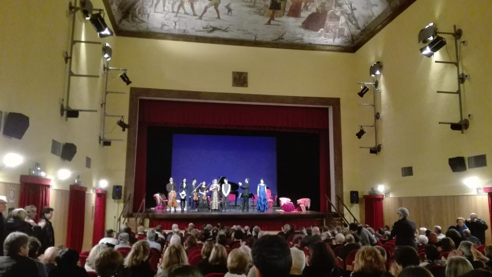 Salotto Di Romantica.Il Salotto Romantico Del Teatro Lirico Di Magenta Sempione
