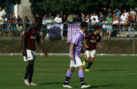 Niang contro l'AC Legnano