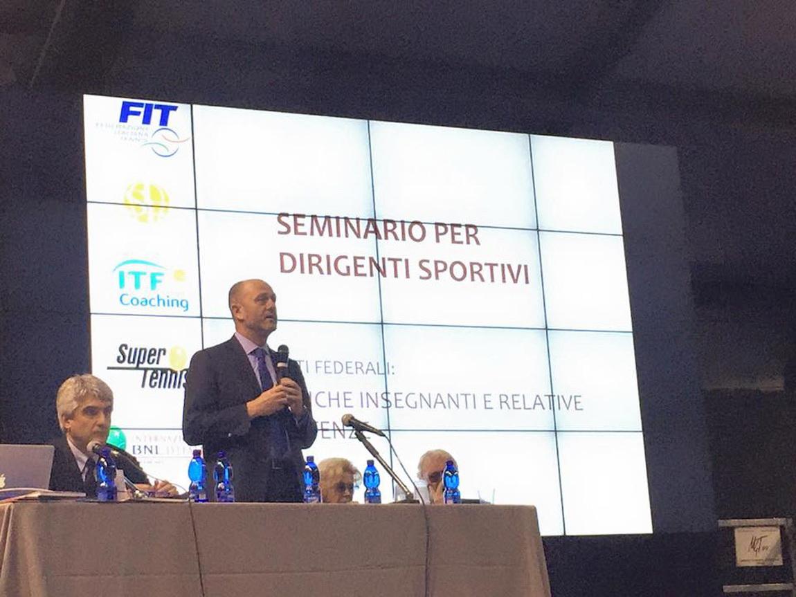 seminario per dirigenti sportivi