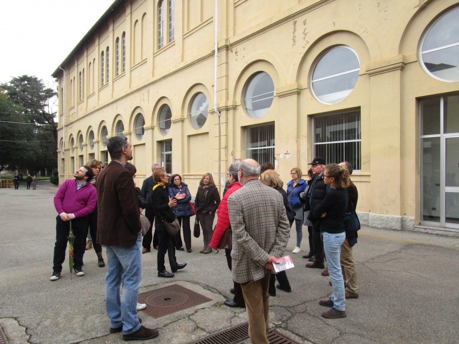 Visita all'ex Manifattura di Legnano