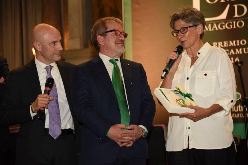 Rosa Camuna Antonella Piras con Maroni e Del Gobbo