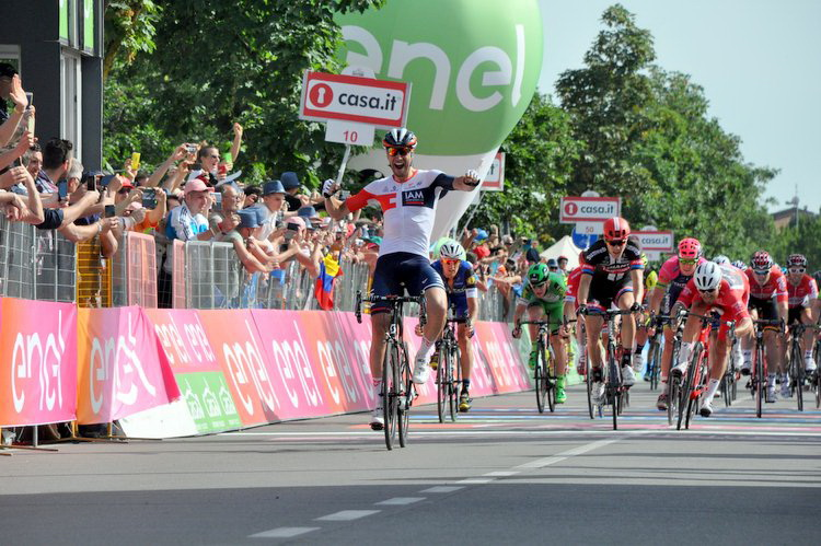 Vittoria Carovana Giro d'Italia