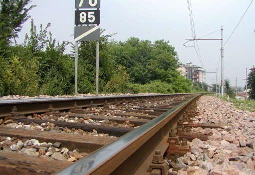 Binario treno