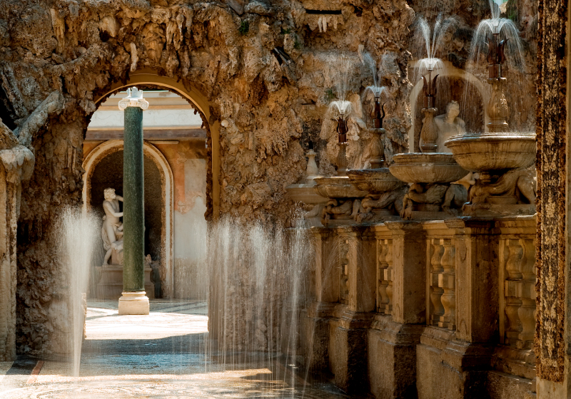 Lainate Villa Litta Giochi D Acqua