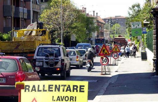 Lavori stradali Varese