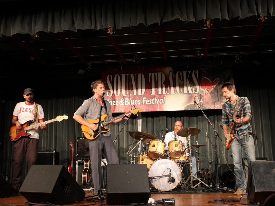Luke Winslow King band Parabiago1
