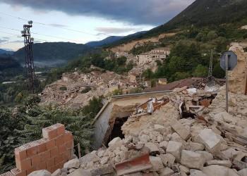 Sisma: Marche; Pescara del Tronto distrutta, si temono vittime foto Cristiano Chiodi
