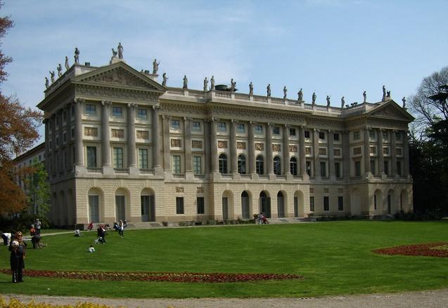 Villa Reale a Milano - Gam