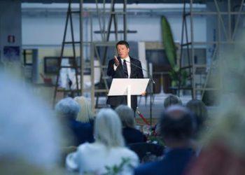 Renzi inaugura settimana Moda Donna Milano