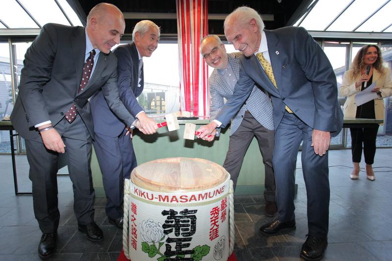 botte inaugurazione 25° Crespi Bonsai