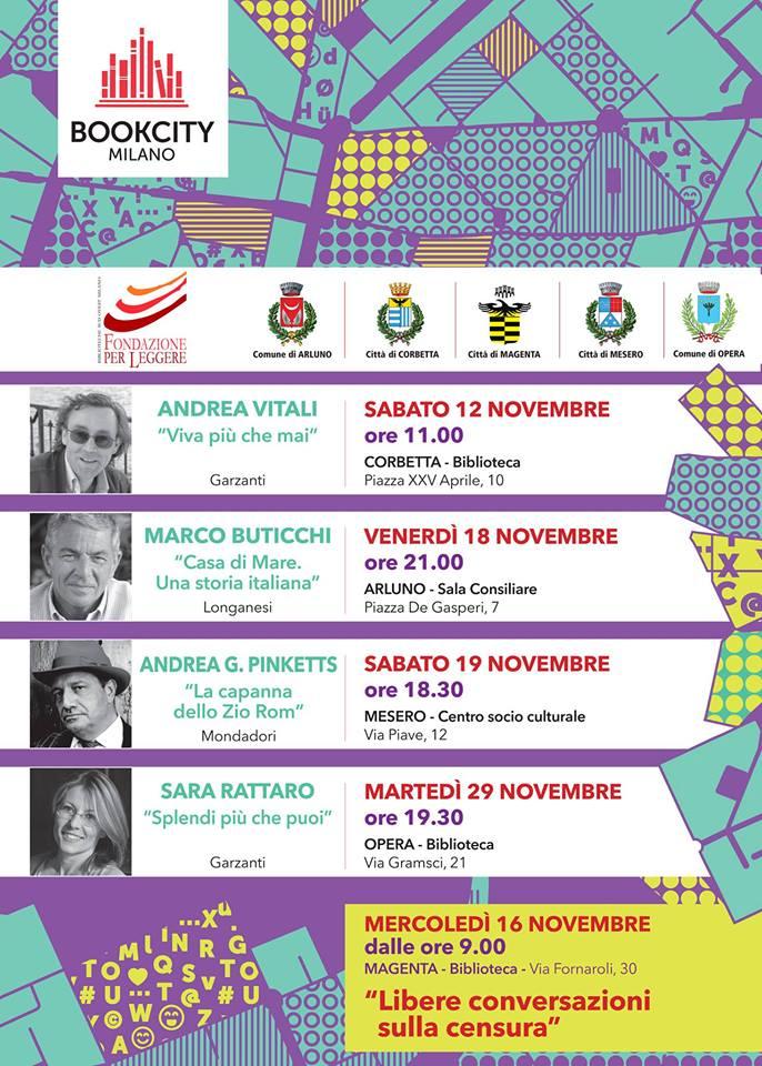 Fondazione per leggere porta book city nell 39 est del ticino for Book city milano