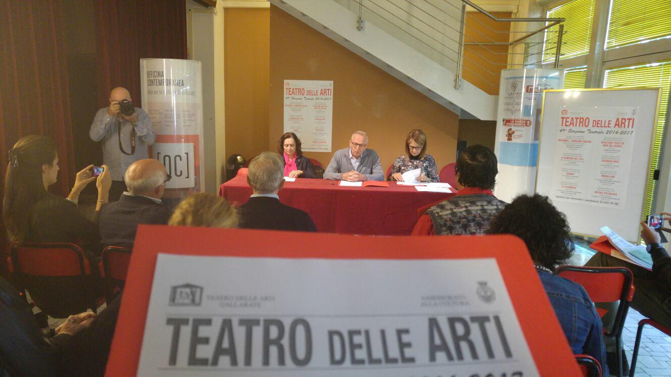 teatro delle arti stragione teatrale gallarate 2
