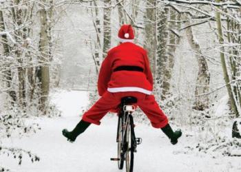 Pedalata di Babbo Natale