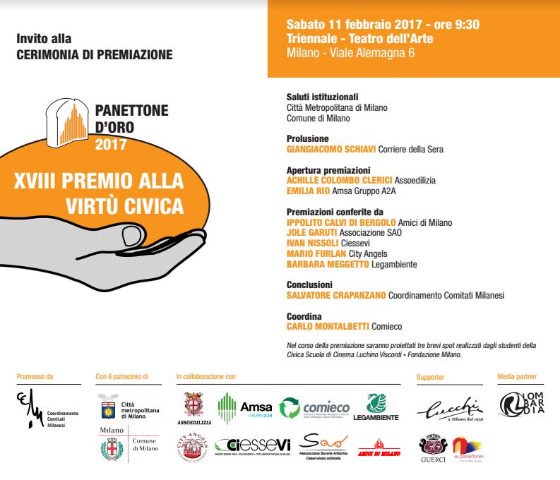 Premiazione dei vincitori del panettone d 39 oro sempione news for Viale alemagna 6 milano
