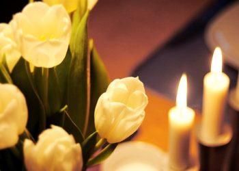 candela_fiori funebre