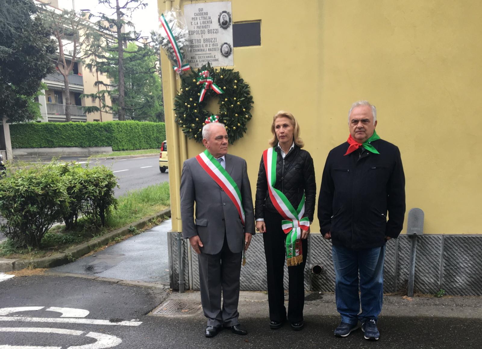 Il Sindaco Vercesi condanna gli atti vandalici con manifesti imbrattati per il 25 aprile a San Vittore Olona